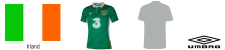 EM Irland Trikot 2016