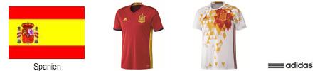 EM Spanien Trikot 2016