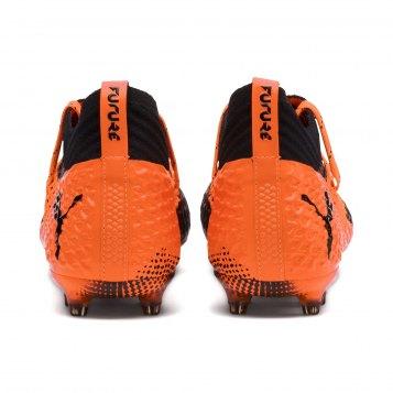 26ce33f57 PUMA FUTURE 2.1 NETFIT FG/AG Shoes for Adults - Puma Black-Shocking Orange