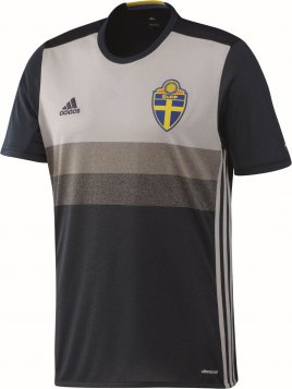 Sweden Away Children Jersey EC 2016-17
