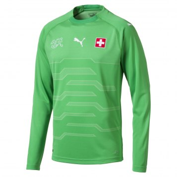 Switzerland WC Goalkeeper Jersey 2018-19 green