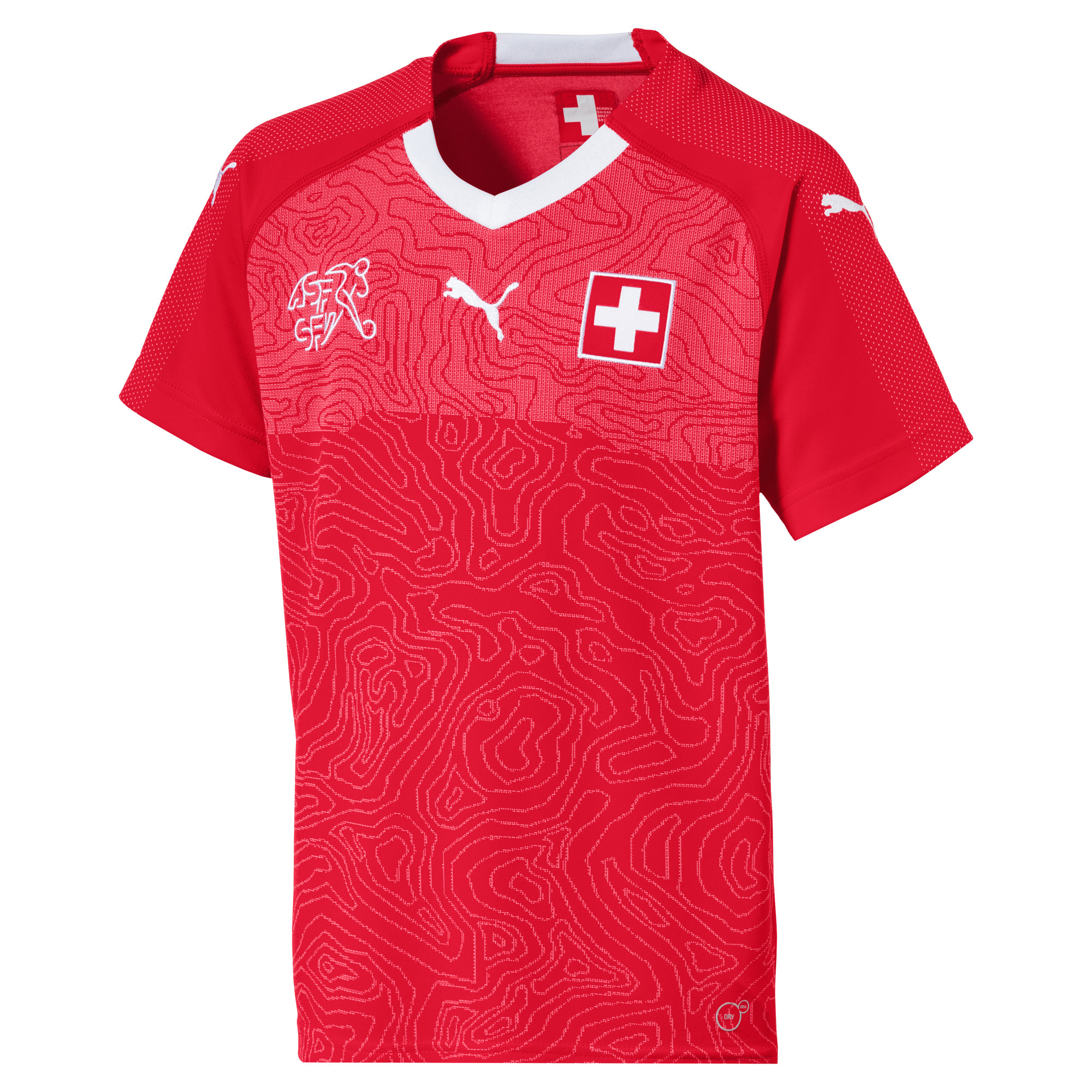 Rodriguez 13 Schweiz Kinder WM Trikot 2018 19
