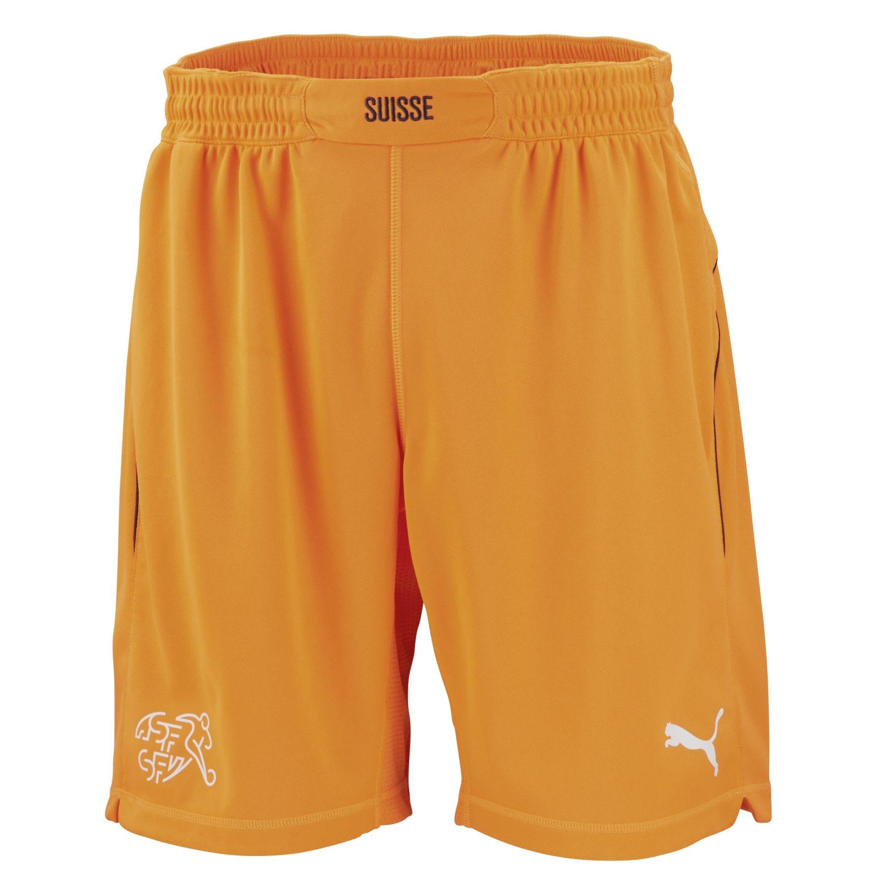 schweiz torwart wm shorts 2014 15 in orange