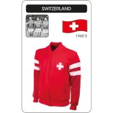 Switzerland 1960 Retro-Jacke striped