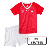 Switzerland Little Boys Football Kit WC 2018-19