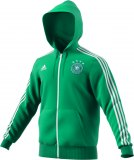 DFB 3 Stripes Full Zip Hoody / grün