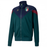Italy FIGC Iconic MCS Jacket 2020-21 - green