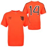 Holland 1974 World Cup Nr. 14 Retro-Trikot