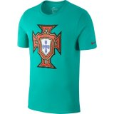 Portugal Evergreen Crest Tee 2018-19 grün