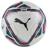 Puma teamFinal 21.2 FIFA Quality Ball - White-Rose Red-Ocean Depths-Puma Black-Omphalodes Gr. 4