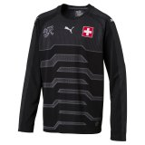Sommer 1 - Switzerland Goalkeeper Children Jersey WC 2018-19 black