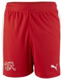 Switzerland Children EC Shorts 2016-17 red