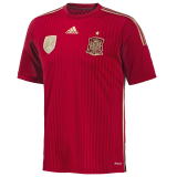 Spain World Cup Jersey 2014-15